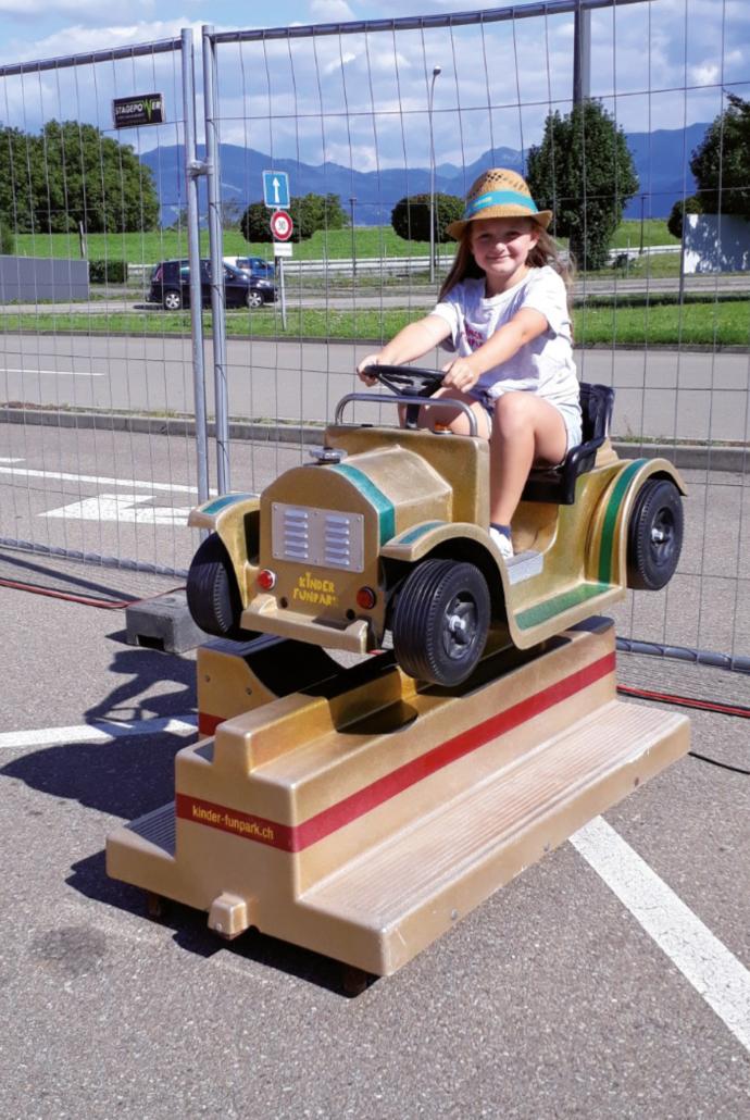Kinder Funpark Kiddy Ride 2