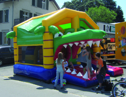 Hüpfburg Kroko Fun Park