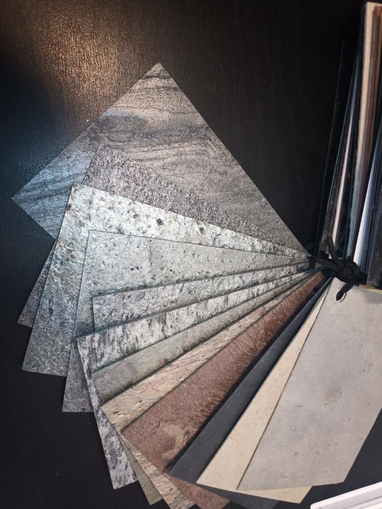 RZB - Echtstein Verbundplatten Fächer