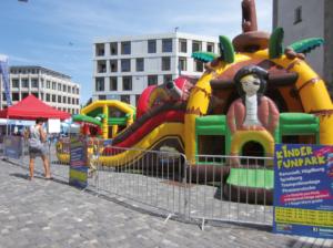 Kinder Funpark Hüpfburgen