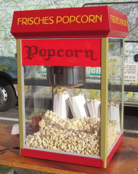 Popcorn Maschine RZ