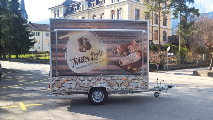 Twister Rolls Baumstriezel Verkaufswagen